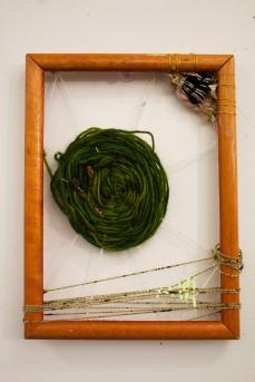 Green 'web' weaving