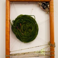 Green 'web' weaving