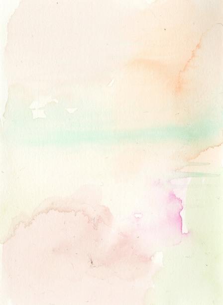 Leftover landscape. Watercolor on paper.